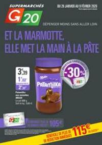 Prospectus G20 PARIS 4 St-Antoine : Et la marmotte, elle met la main à la pâte