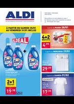 Promos et remises Aldi : Le dépliant ALDI de cette semaine