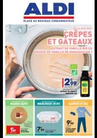 Prospectus Aldi Epinay-sur-Seine : Crêpes et Gâteaux