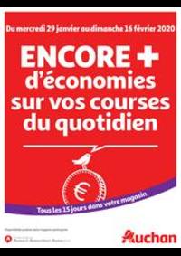 Prospectus Auchan Val d'Europe Marne-la-Vallée : Des économies au quotidien