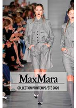 Catalogues et collections Max Mara : Collection PrintempsÉté 2020