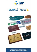 Prospectus Top office : Signalétiques
