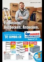 Promos et remises Jumbo : Einpacken, Auspacken, Anpacken