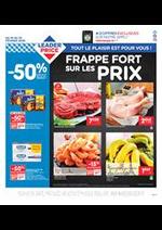 Prospectus Leader Price : Frappe Fort sur les Prix.