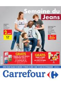 Prospectus Carrefour MARCHE : Semaine du Jeans