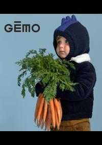 Prospectus Gemo GENNEVILLIERS : Nouvetés Garçon