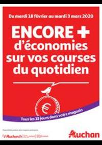 Prospectus Auchan ISSY LES MOULINEAUX : Des économies au quotidien