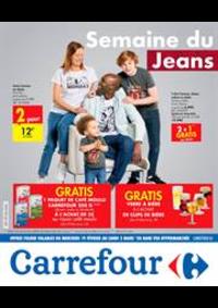 Prospectus Carrefour Express ANDERLECHT Mons  : Semaine du Jeans