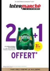 Prospectus Intermarché Super Mehun-sur-Yevres : 2 + 1 OFFERT