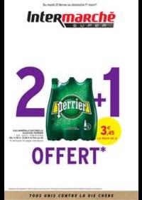 Prospectus Intermarché Super Delle : 2 + 1 OFFERT