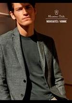 Catalogues et collections Massimo Dutti : Nouveautés  Homme