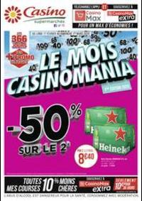 Prospectus Supermarchés Casino LA SEYNE SUR MER : Le mois Casinomania