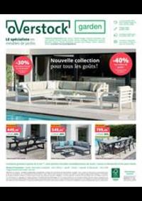Prospectus Overstock Garden Namur : Nouvelle collection pour tous les gouts!