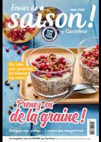 Journaux et magazines Carrefour CLAYE-SOUILLY : Envies de saison