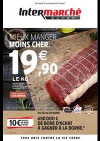 Prospectus Intermarché Super Yerres : MIEUX MANGER MOINS CHER.