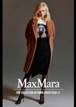 Catalogues et collections Max Mara : Pré-Collection AutomneHiver 2020-21