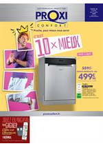 Prospectus Proxi Confort : C'est 10 x Mieux