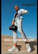 Catalogues et collections Desigual : Nouvelle Collection Denim  Femme