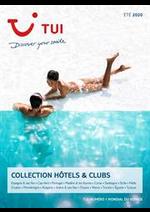 Tarifs TUI : Collection Hôtels & Clubs Été 2020