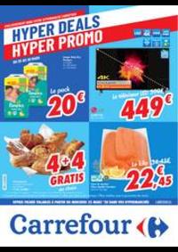 Prospectus Carrefour ANS : folder Carrefour