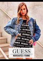 Prospectus Guess : Nouveautés / Femme
