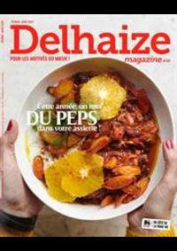 Prospectus Supermarché Delhaize Dinant : Delhaize Magazine