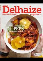 Prospectus Supermarché Delhaize : Delhaize Magazine