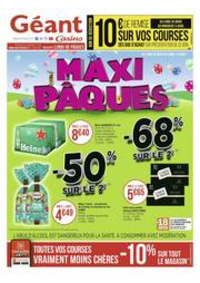 Prospectus Géant Casino LALOUBERE : Maxi Pâques