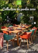 Prospectus  : Collection de jardin 2020