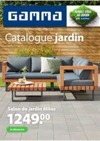 Prospectus GAMMA DEINZE : Catalogue jardin