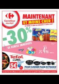 Prospectus Carrefour Market RENNES C.C. La Poterie : Maintenant et moins cher !
