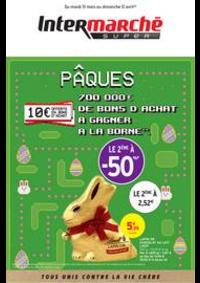 Prospectus Intermarché Super Vert le Petit : PÂQUES