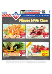 Prospectus Leader Price Maffliers : Pâques à Prix Choc