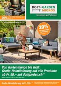 Prospectus Do it + Garden Bern - Marktgasse Fachmarkt : Do it + Garden Aktionsflyer KW15