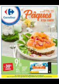 Prospectus Carrefour AULNAY SOUS BOIS : Pâques à la carte