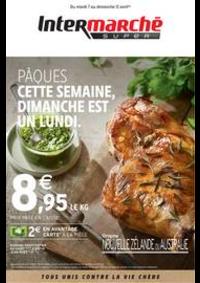 Prospectus Intermarché Super Bondy : PÂQUES