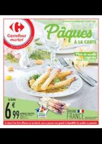 Prospectus Carrefour Market COLOMBES : Pâques à la carte