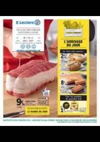 Prospectus E.Leclerc LE BLANC MESNIL : L?ARRIVAGE DU JOUR