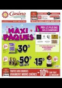 Prospectus Supermarchés Casino PARIS 77 Rue de Flandre : Maxi Pâques
