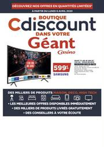 Prospectus  : Catalogue Géant Casino