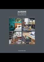 Catalogues et collections Maisons du Monde : Maisons du Monde Business