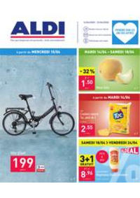 Promos et remises Aldi MONTIGNY-LE-TILLEUL : Folder Aldi