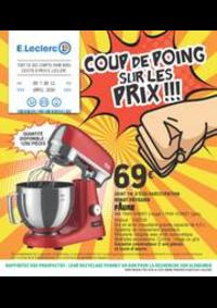 Prospectus E.Leclerc ACHERES : COUP DE POING SUR LES PRIX!