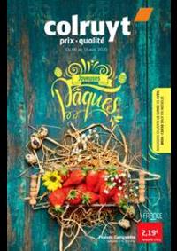 Prospectus Colruyt CHATELET : Joyeuses paques