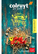 Prospectus Colruyt : Joyeuses paques