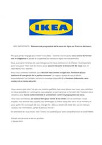 Prospectus IKEA PARIS - VILLIERS-SUR-MARNE : Réouverture progressive