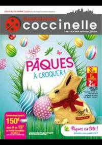 Prospectus Coccinelle Supermarché PARIS 108/110 RUE DES PYRENEES : Catalogue Coccinelle