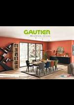 Prospectus Gautier : Gautier Home - Collection 2019/2020