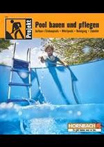Prospectus Hornbach : Pool bauen und pflegen