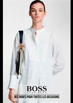 Catalogues et collections Hugo Boss : Des robes pour toutes les occasions
